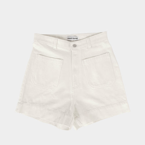 Sailor Shorts, White Denim, PRE ORDER