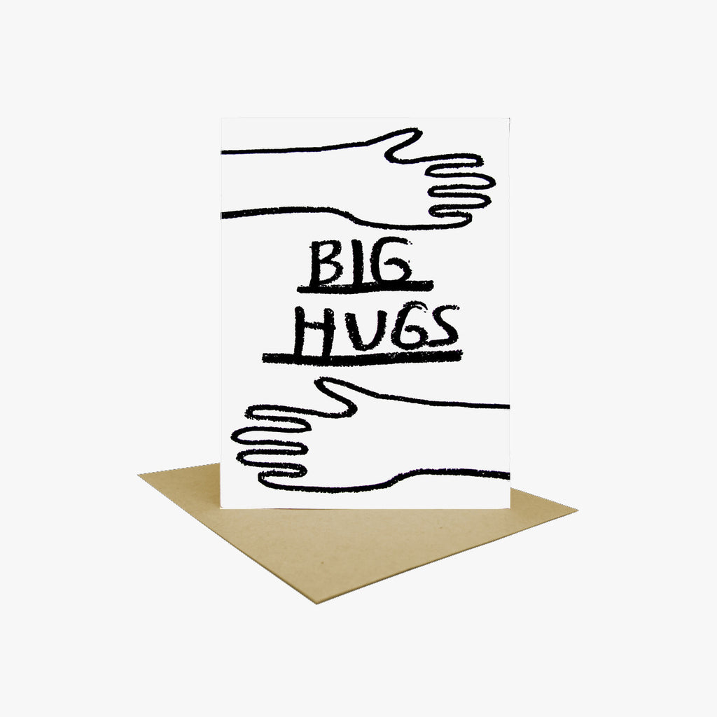 Big Hugs Note Card by People I've Loved