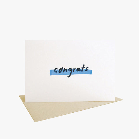Congrats Note Card by People I've Loved