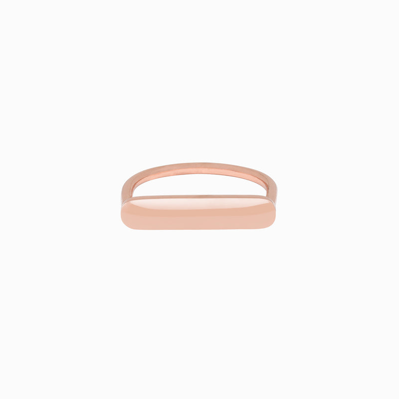 Stacker Ring in Rose Gold Plate by Naomi Murrell