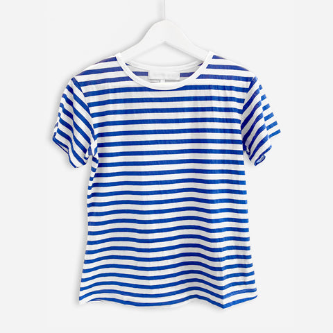 Sailor Blue and White Striped tee