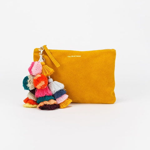 Bedouin Clutch, Marigold Suede, The Wolf Gang