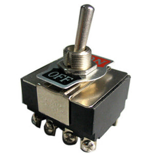 K401 4PST On-Off Toggle Switch