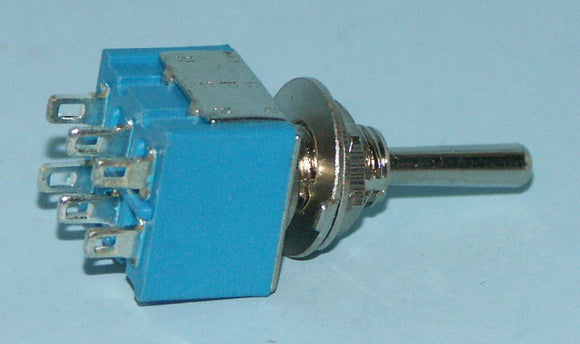 M2033 SP3T On-On-On Miniature Toggle Switch