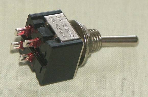 M201 DPST On-Off Miniature Toggle Switch