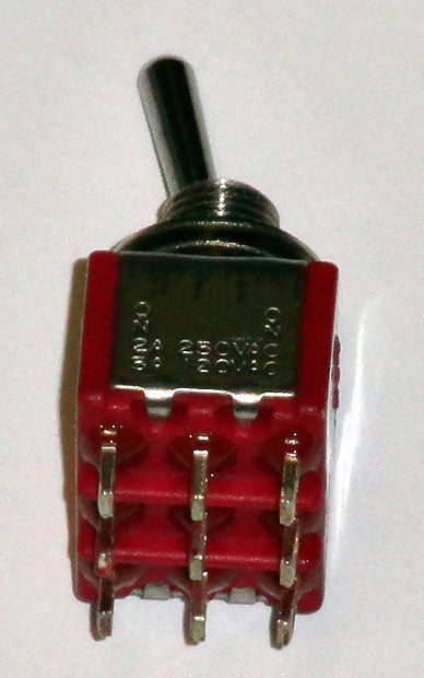 T8301 3PDT On-On Premium Miniature Toggle Switch