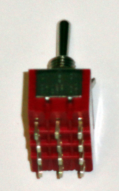 T8405 4PDT On-Off-On Center Off Premium Miniature Toggle Switch