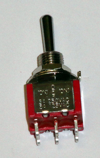 T8012 DPDT On-Off-On Center Off Premium Miniature Toggle Switch