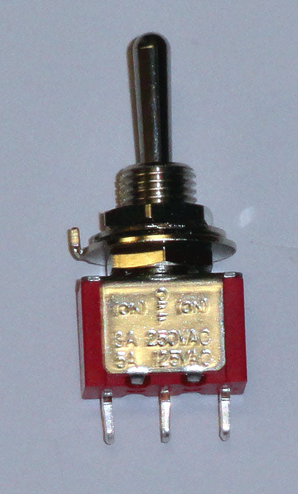 T8014A SPDT (On)-Off-(On) Momentary Both Sides Premium Miniature Toggle Switch