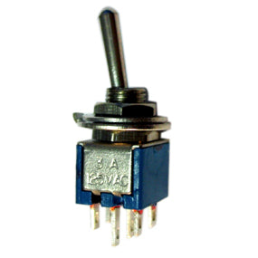 SM203 DPDT On-Off-On Sub Miniature Toggle Switch