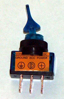 12 Volt Lighted Toggle Switch