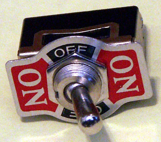 K103 SPDT On-Off-On Toggle Switch