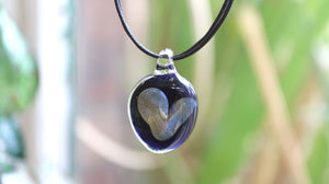 Glass Heart Pendant for Valentines Day's Gift?