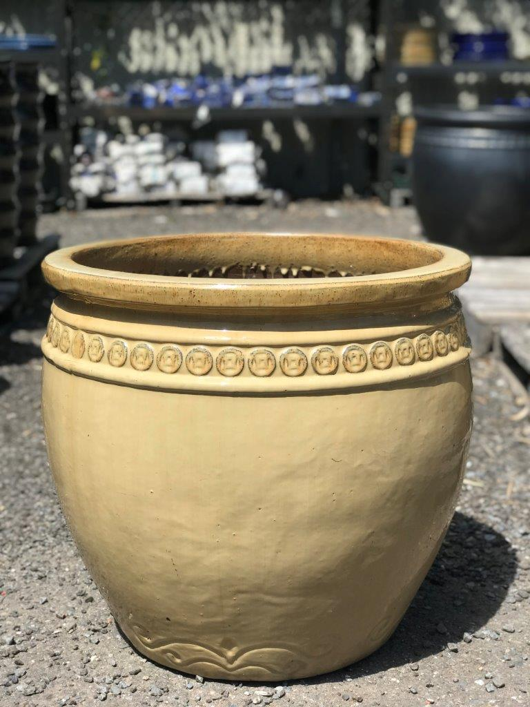Glazed Coin Pot Cream