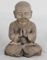Praying Monk H40cm