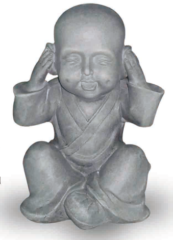 Hear No Evil Monk H30cm