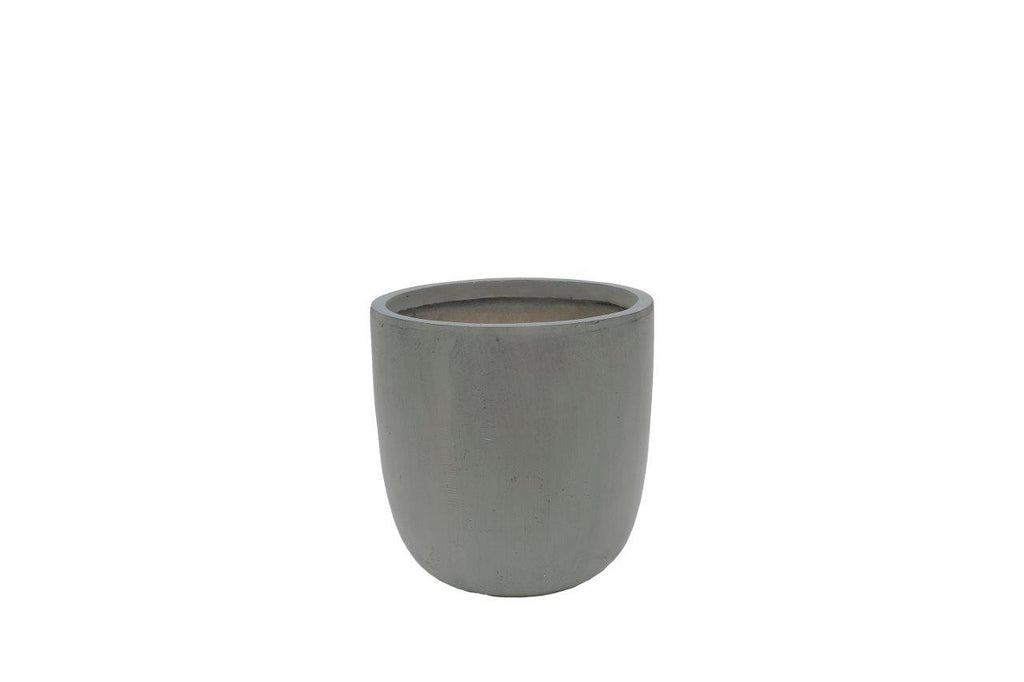 Fiber Stone Egg Pot Cement