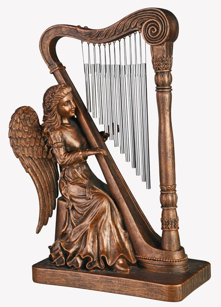 Harp Angel - Bronze