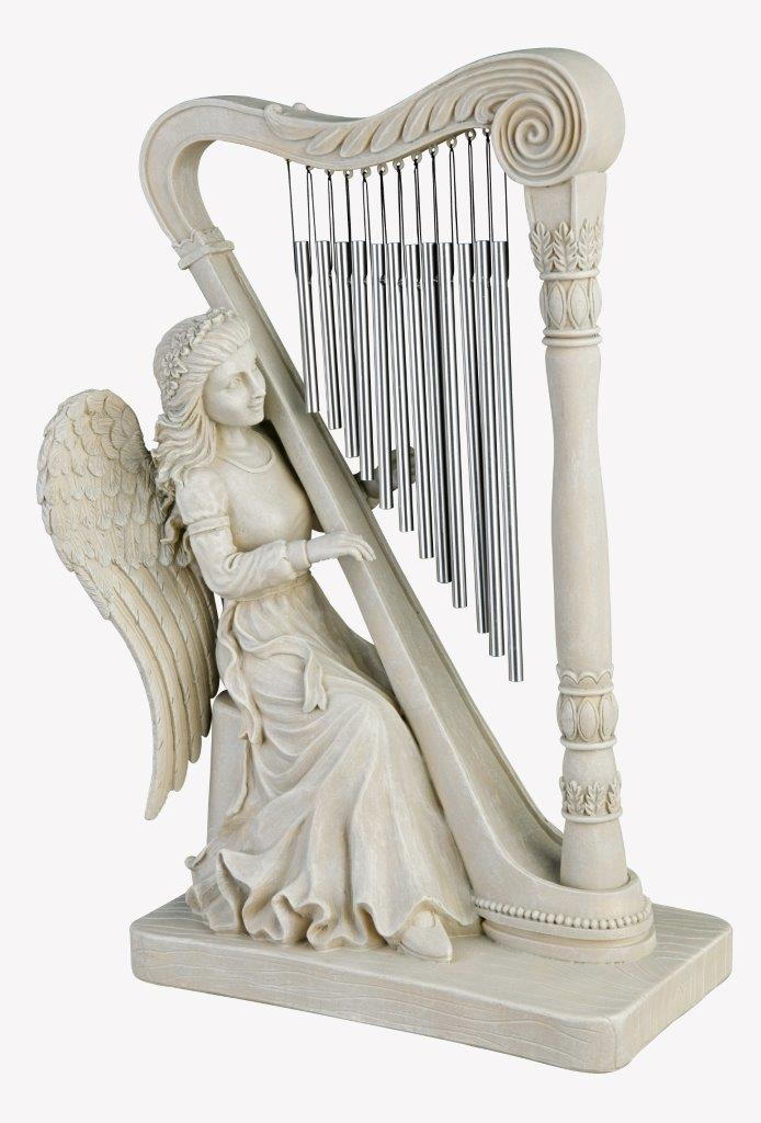 Harp Angel - White