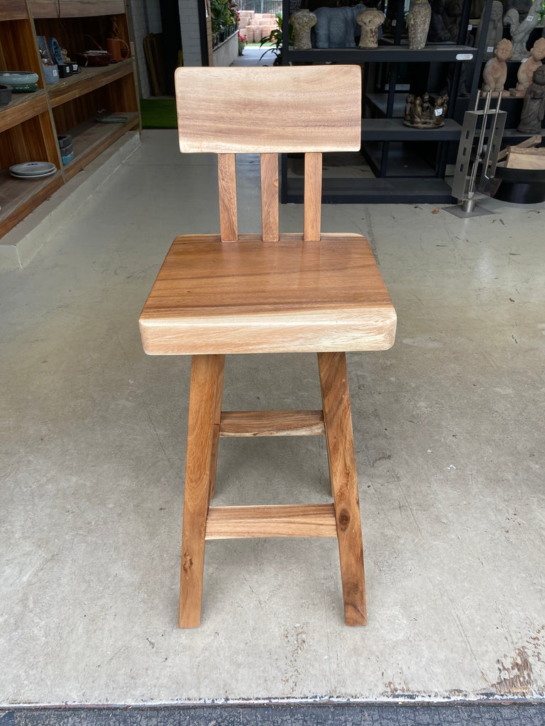 Commercial Barstool with Back