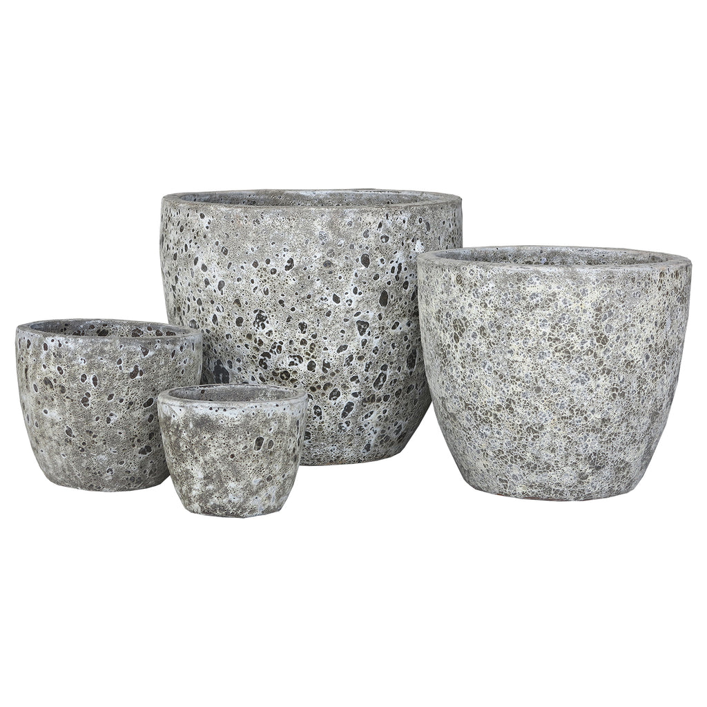 Oceanic Egg Pot Ancient Grey