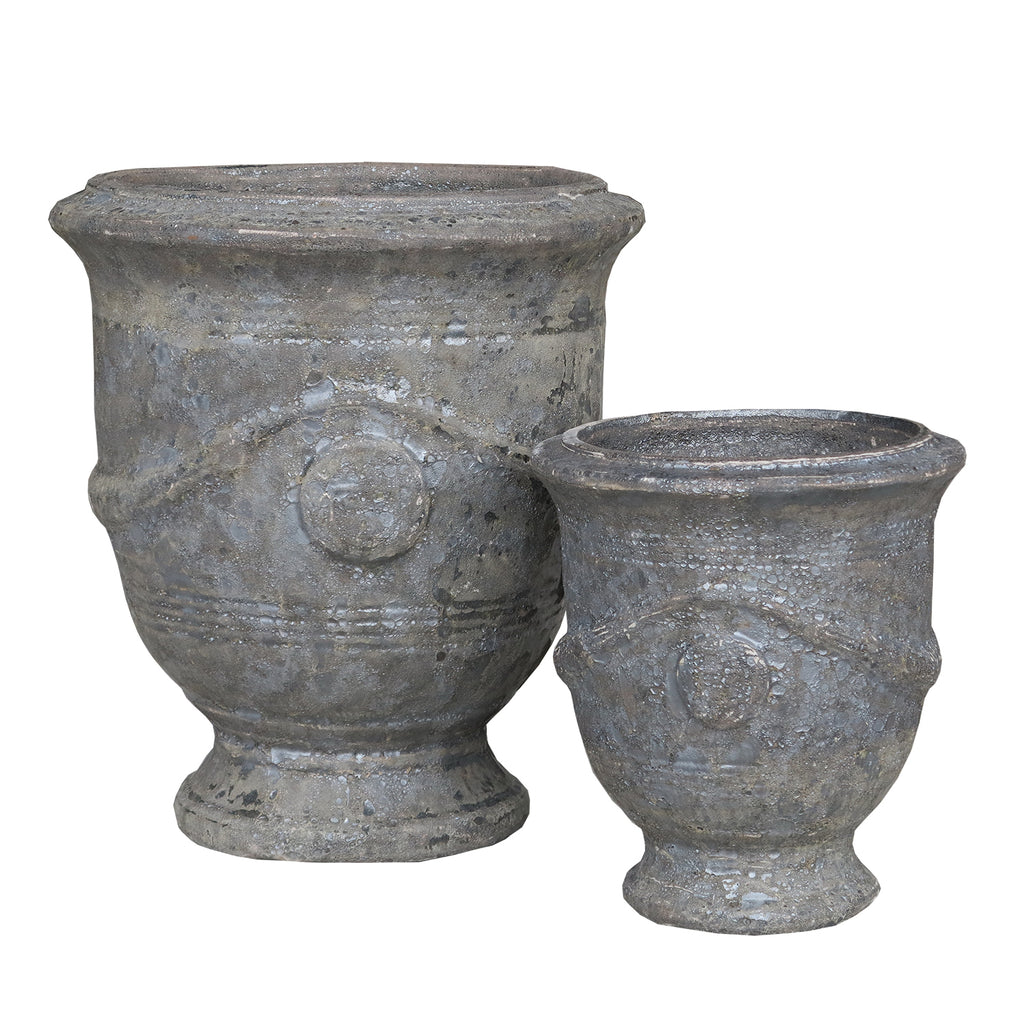 Oceanic French Planter Black Ancient Tidi