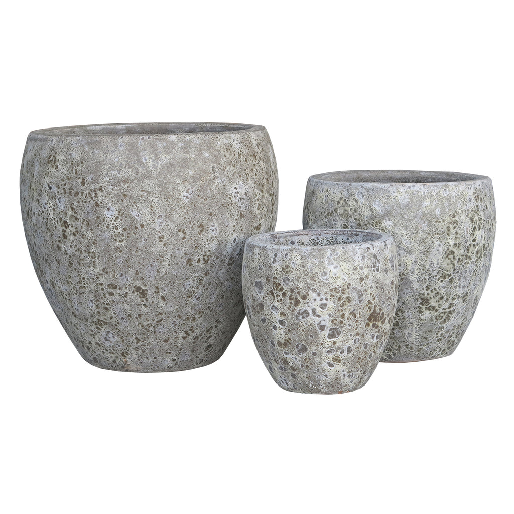 Oceanic Tulip Pot Ancient Grey