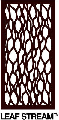 Decorative Garden Screen - Leafstream 60% Block Out