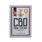 beeZbee CBD Pain Cream Single Serving Box (60 Count/ 20mg Each) - CBD Kratom