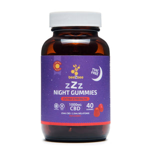 Load image into Gallery viewer, zZz CBD Night Gummies
