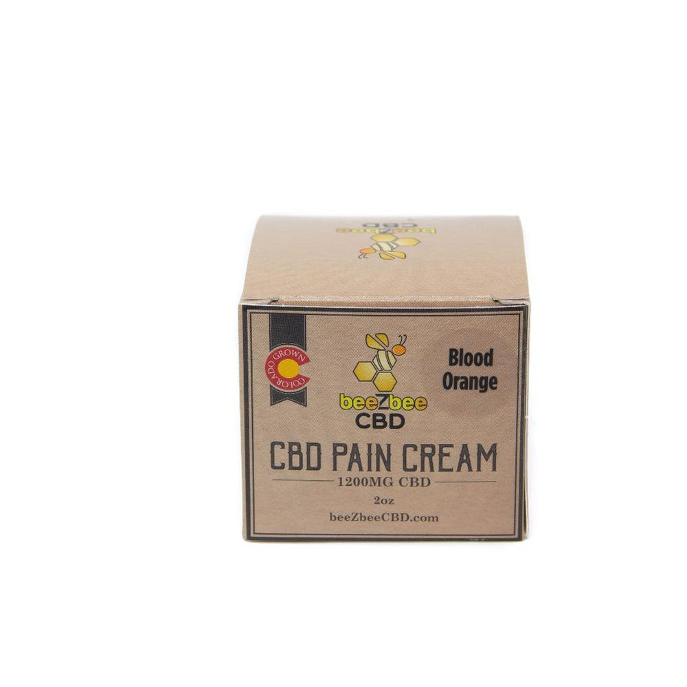 beeZbee CBD Pain Cream 1200mg - CBD Kratom