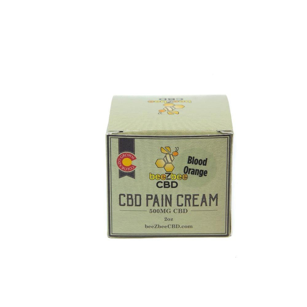 beeZbee CBD Pain Cream 500mg - CBD Kratom