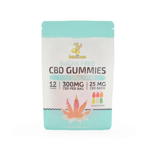 Sugar Free CBD Gummies 300mg