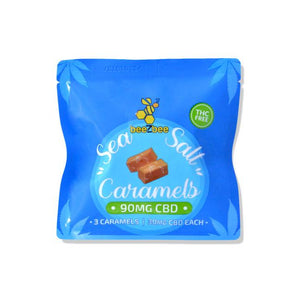 Load image into Gallery viewer, CBD Caramels 3 Pack, THC Free, 90mg