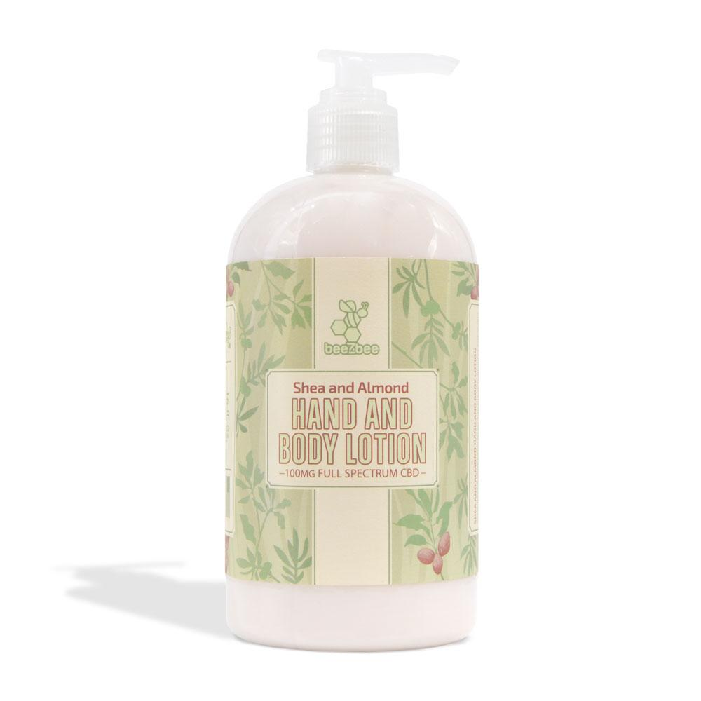 beeZbee CBD Hand and Body Lotion 100mg - CBD Kratom