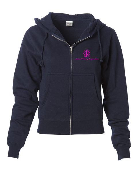 NCL Women's Zip Hooded Sweatshirt