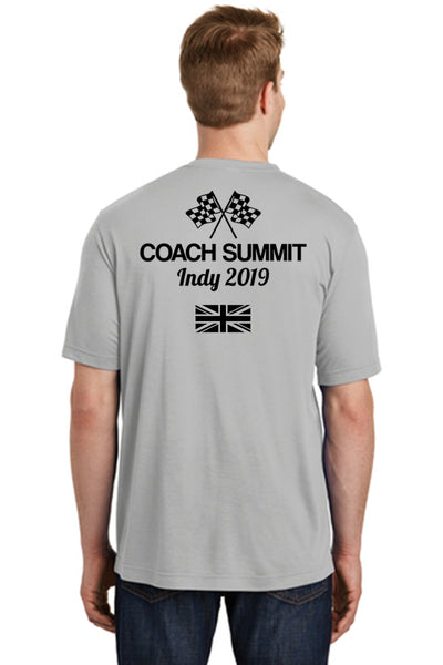 Team Perseverance Summit (UK Version): Men's Performance TShirt - Grey (ST450)
