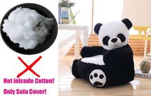 Charger l'image dans la galerie, Sofa Cover Cartoon Kids Plush Seats Sofa Comfortable Animal Bear Panda Baby Portable Chair Sofa Gifts for Children Without Inner