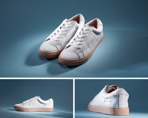 LACESS - EDEN leather sneakers