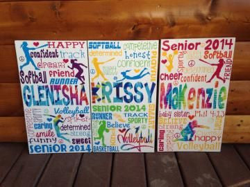 Personalized Wooden Teen Tween Sports Sign- Any Sport!