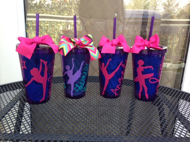 Personalized Dance Dancer Tumbler