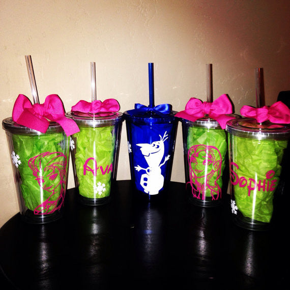 Personalized Frozen Party Tumbler