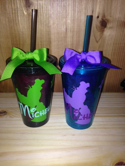 Personalized Disney Inspired Character Tumblers