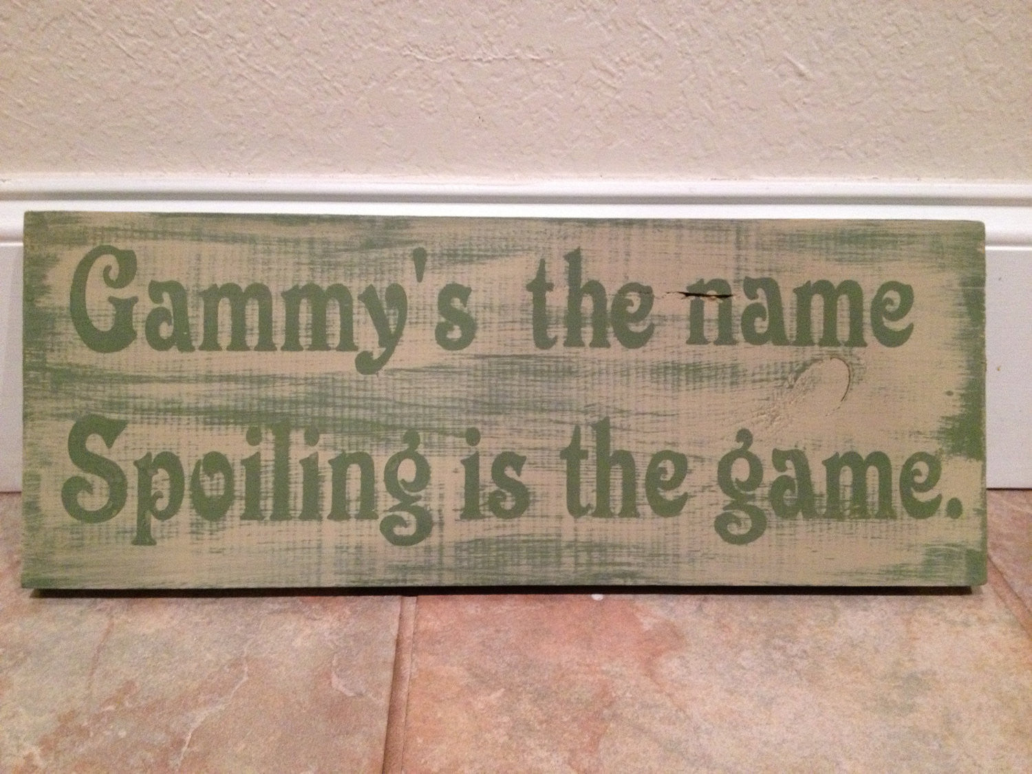 Distressed Wooden Grandma wooden sign