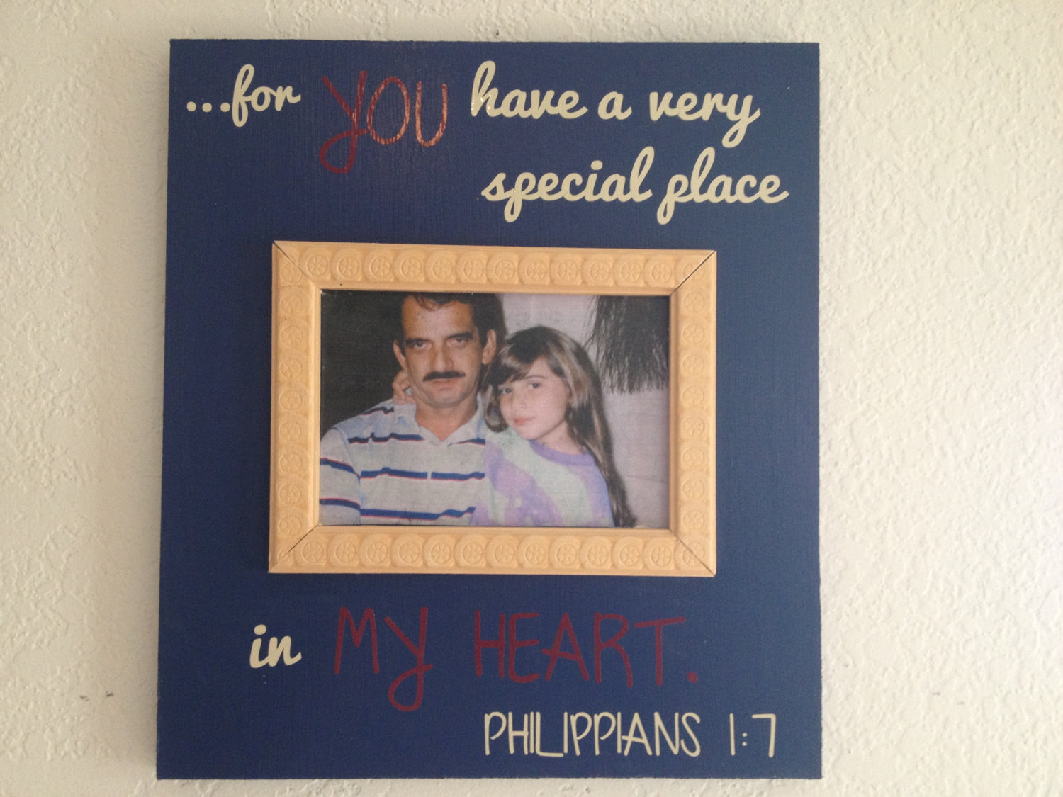 Remembrance Personalized sign with frame