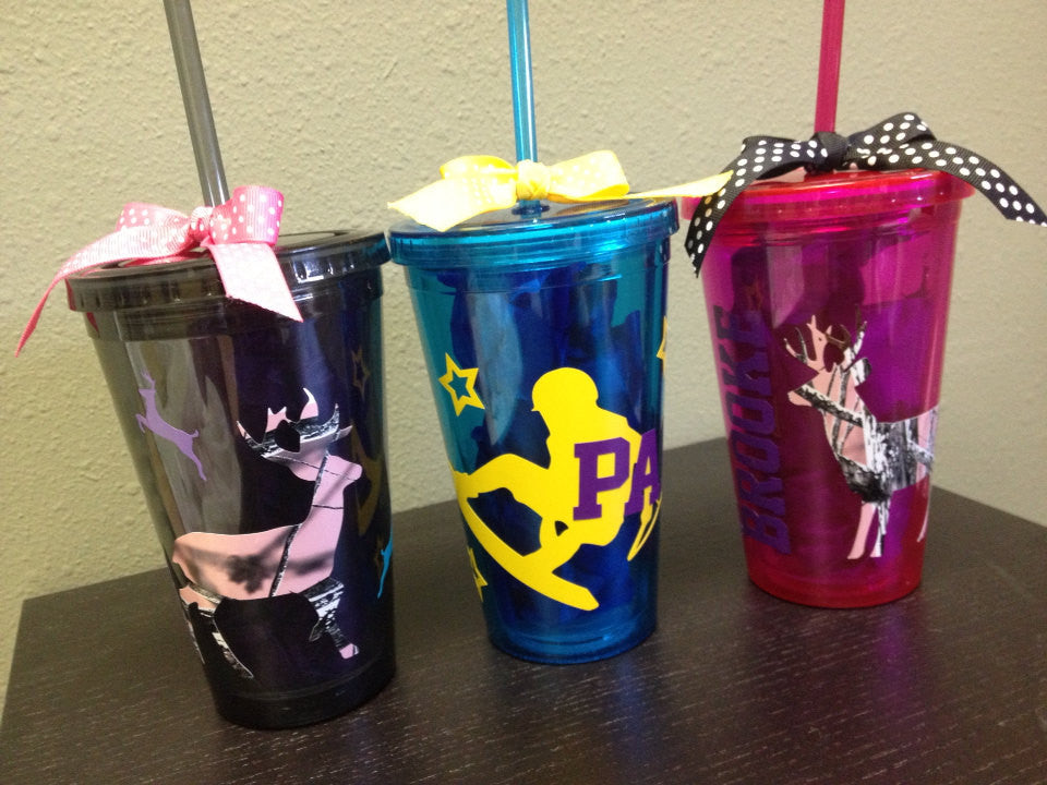 Personalized family Tumblers Hunting Deer