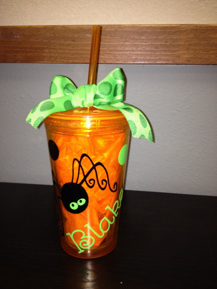 Personalized Halloween Tumbler