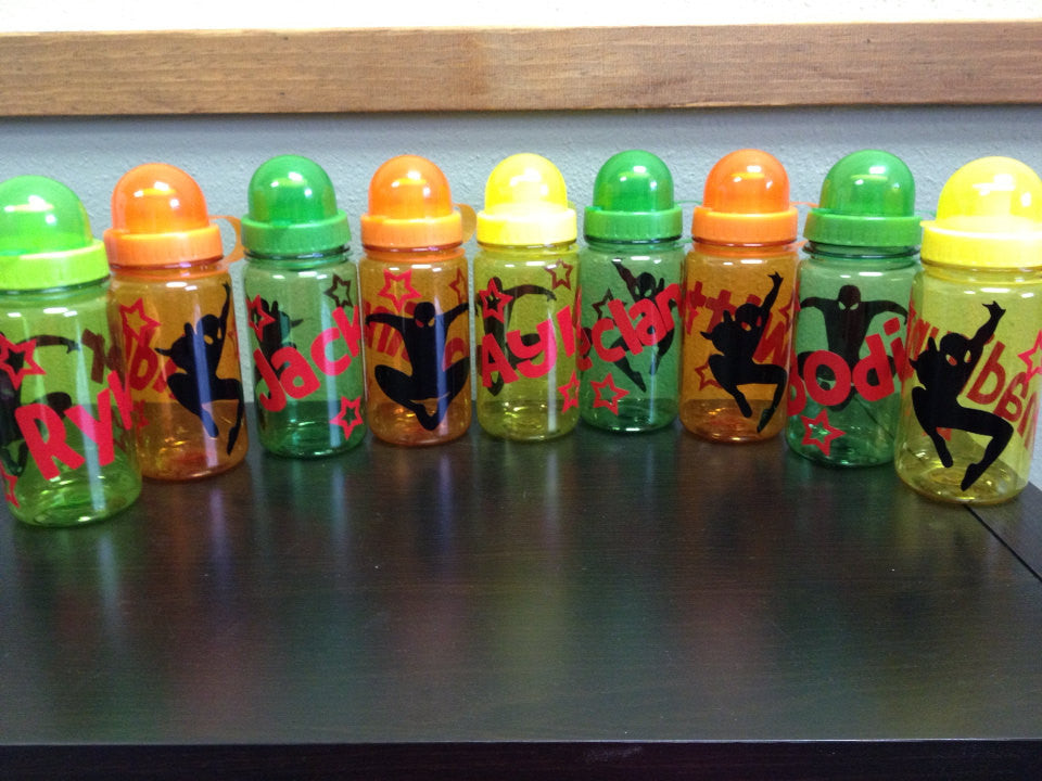 Personalized Kid's Water Bottles Spider-Man