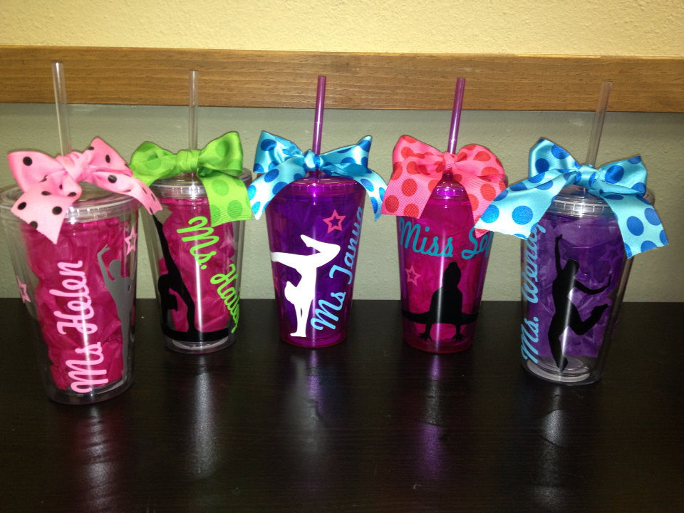 Personalized Dance Tumbler Coach Gift