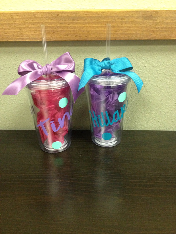 Personalized Tumbler teacher gift